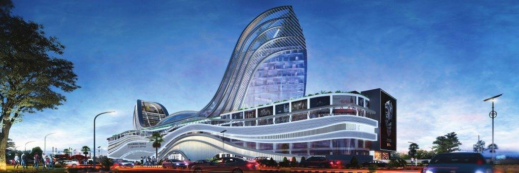 gulberg-mall-islamabad-sideview
