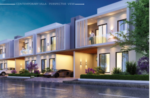 The contemporary smart villas in Capital Smart city
