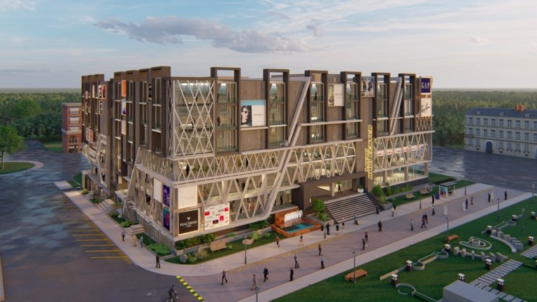 Rabi Centre, commercial and residential project in D markaz gulberg residencia