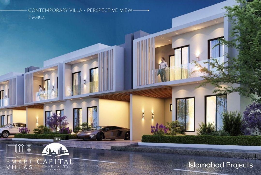 contemporary style - smart villa - 5 marla