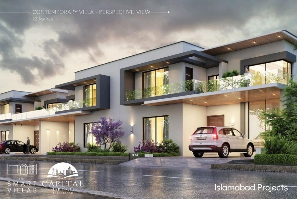contemporary villa - 12 marla smart villas in islamabad