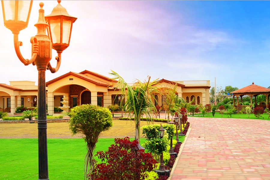 Farmhouse model for Gulberg