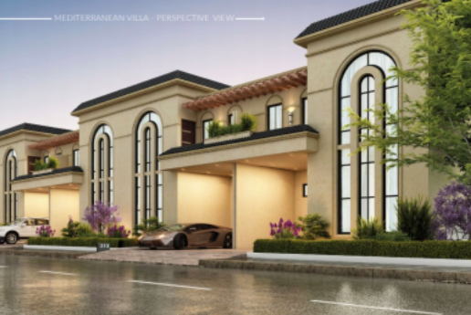 Capital smart city's smart homes, mediterrane Villa