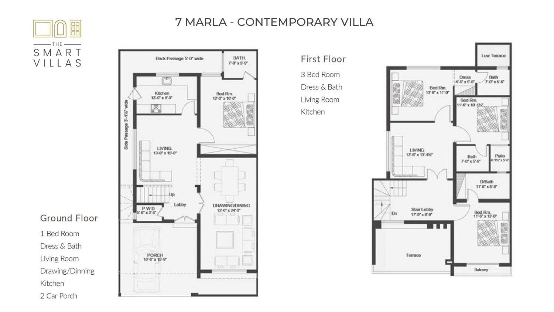 7 Marla Smart Villa - Contemporary Style