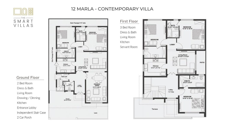 12 Marla Smart Villa - Contemporary Style