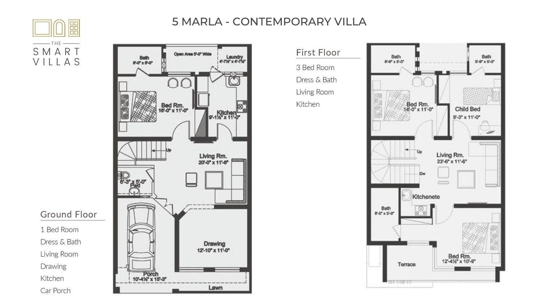 5 Marla Smart Villa - Contemporary Style (Capital Smart City)