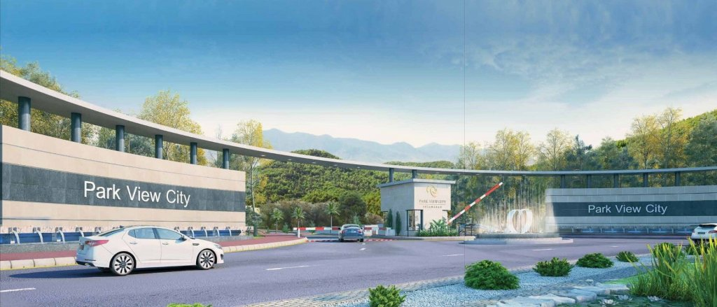 park view city islamabad - grand-entrance-model