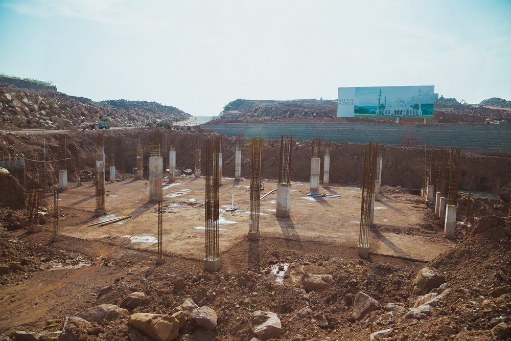 park view city islamabad-grand mosque under construction