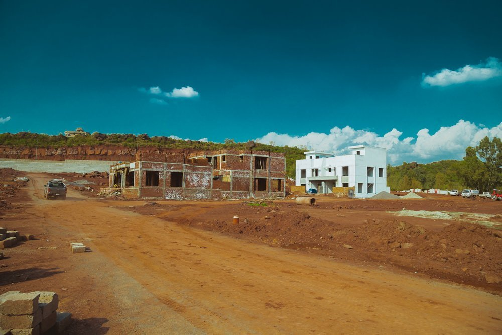 park view city islamabad - houses under construction
