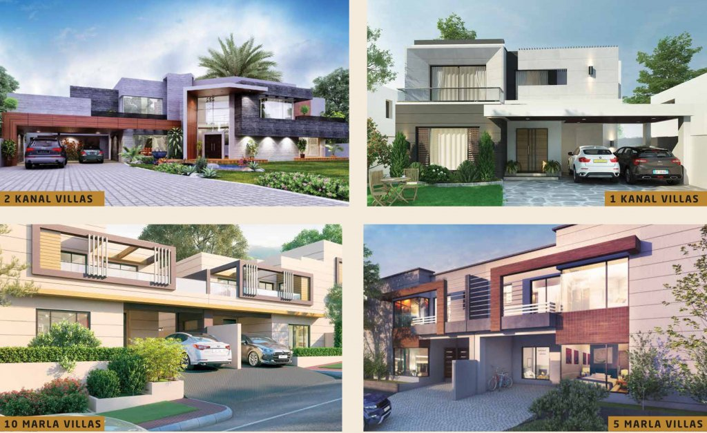 park view homes in Park-view-city-islamabad-residential villas