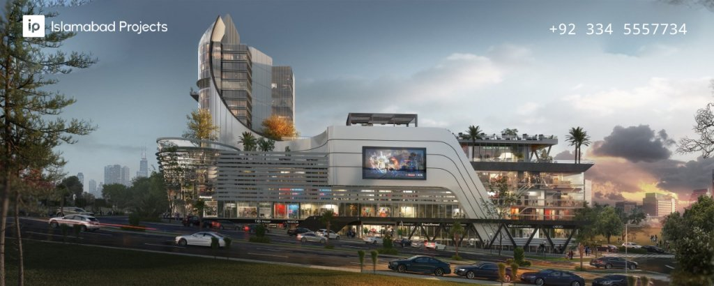 the magnus mall - an architectural marvel coming up in gulberg residencia