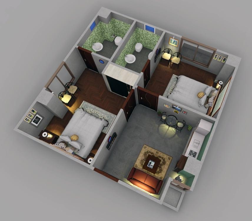 Islamabad Sqaure floor plan9