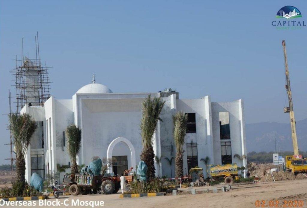 grand mosque in overseas block C Capital Smart City