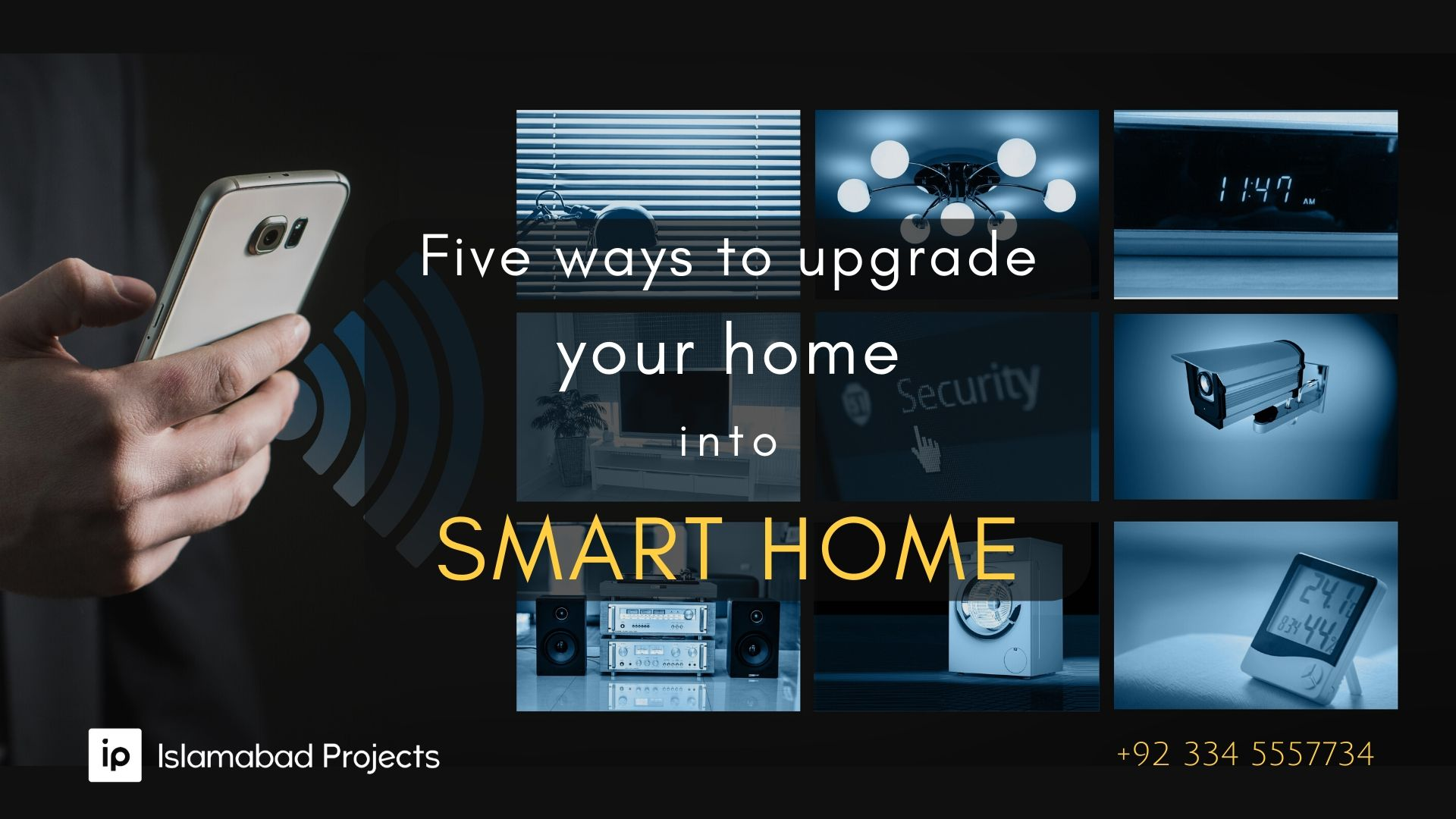 how to convert your home into smart home
