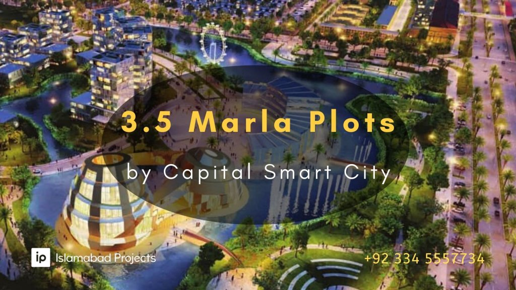 3.5 marla plots launched by Capital Smart City