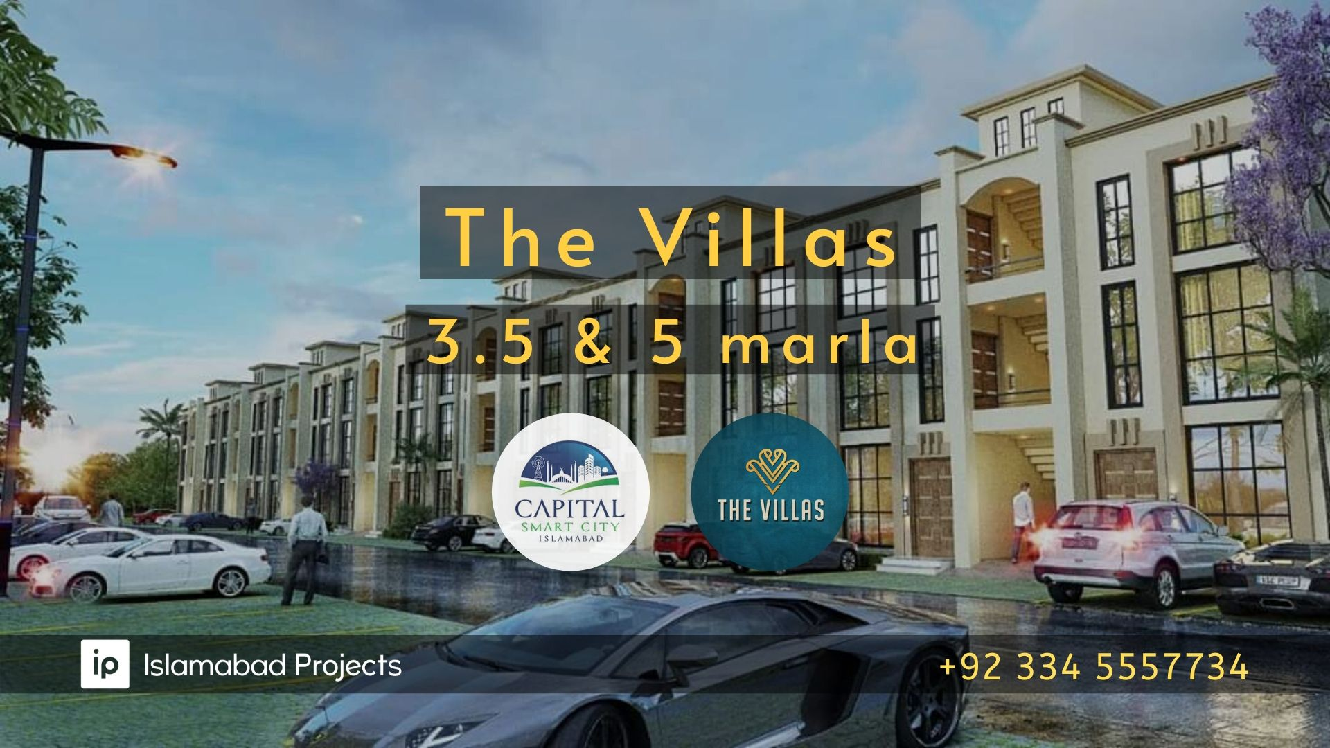 The Villa Apartments of 3.5 and 5 marla launched by Capital Smart City - payment plan, floor plan