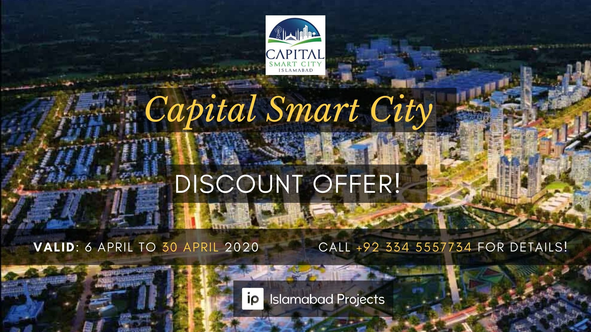 Capital Smart City Brings Massive Discount Offer Amidst the Coronavirus