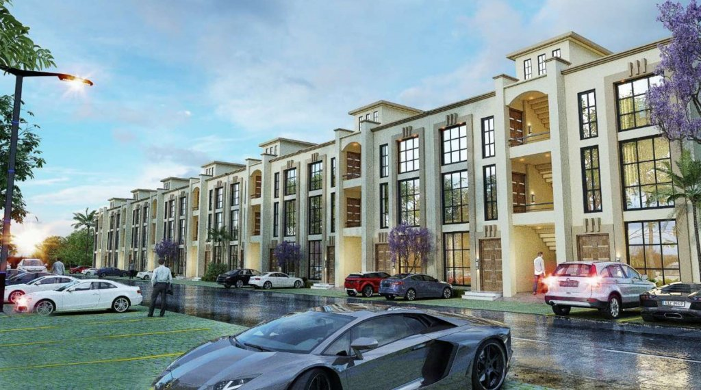 capital smart city - the villas in harmony park-3.5 marla villa apartment
