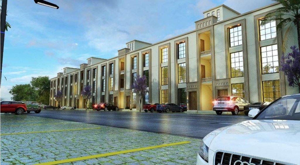capital smart city - the villas in harmony park-5 marla villa apartment