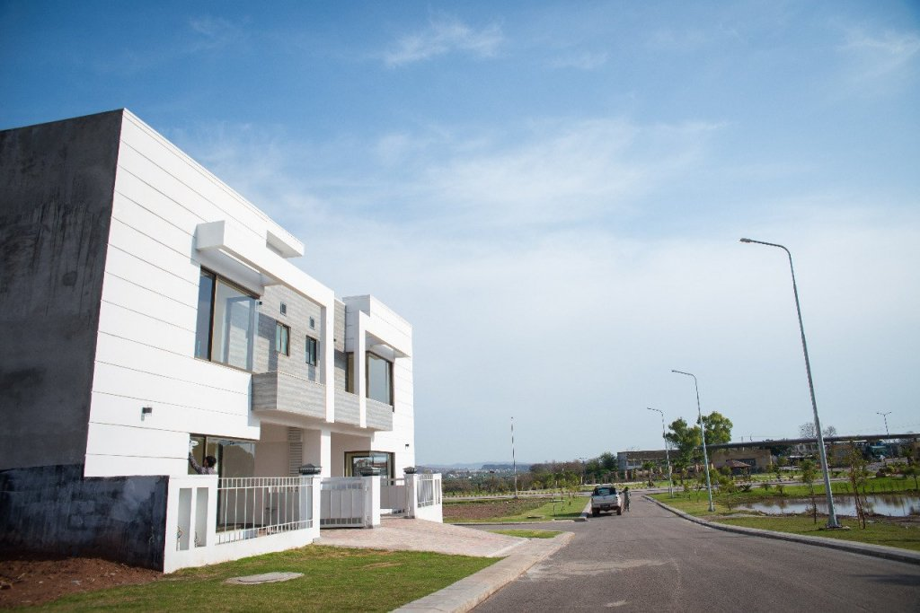 park view city 5 marla villa - constructed completely