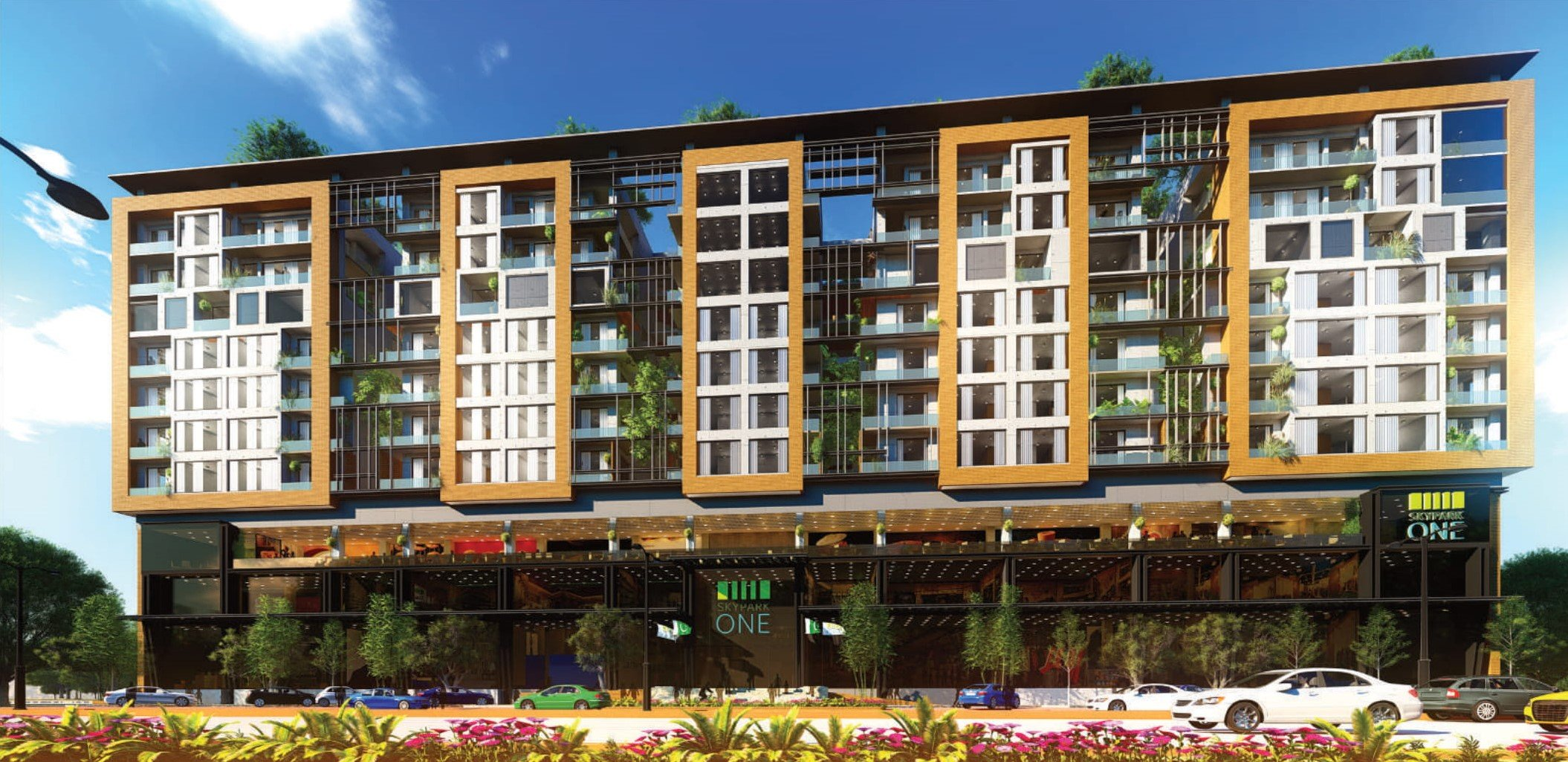 Skypark One - Gulberg Greens-front view