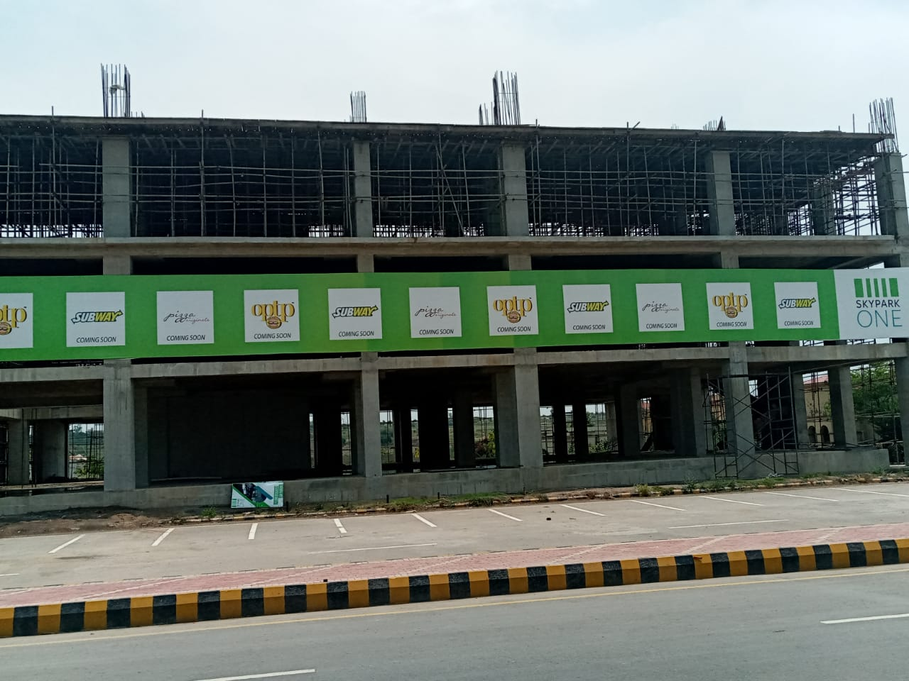 skypark one gulberg greens- optp and subway signed up