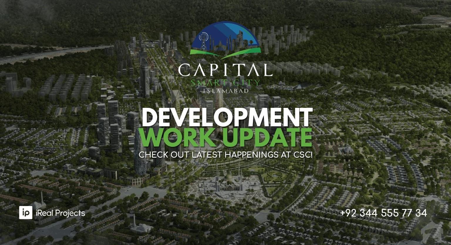 capital smart city latest development work updates
