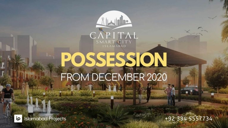 possession schedule of capital smart city - possession of overseas and executive block starting from december 2020