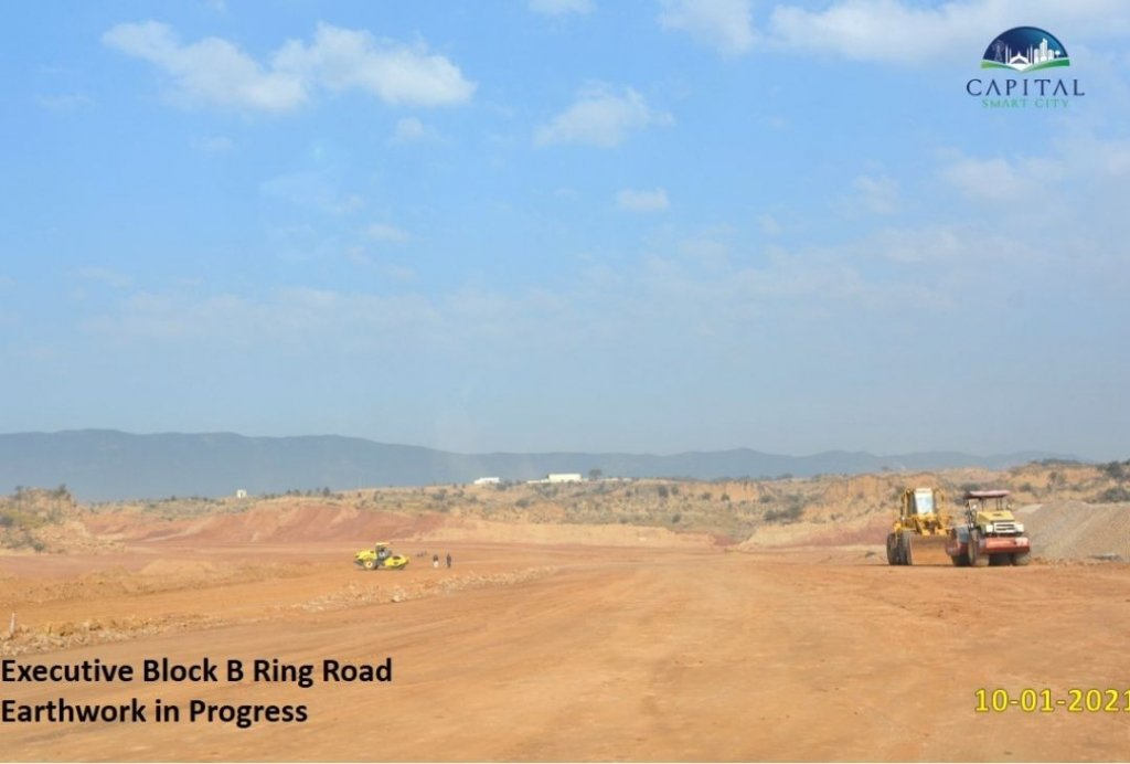 Executive block B-ring road-capital smart city