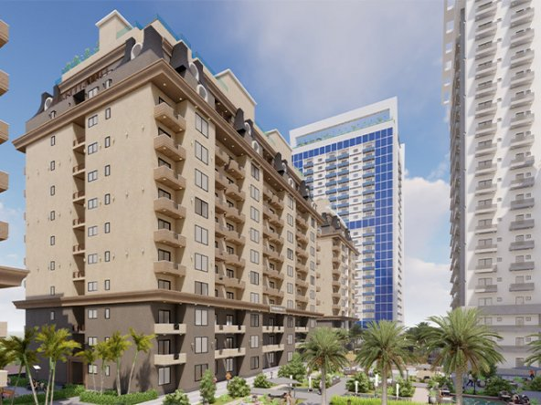 Goldcrest Chic luxury apartments on installments in islamabad