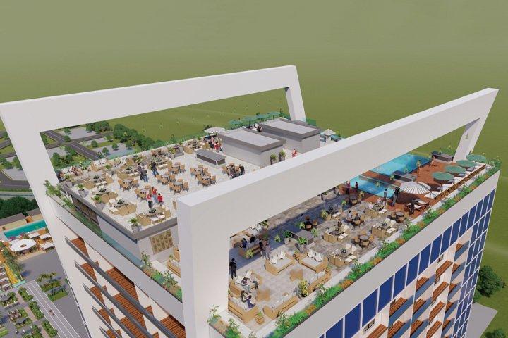 Goldcrest Highlife Grand rooftop excursion area