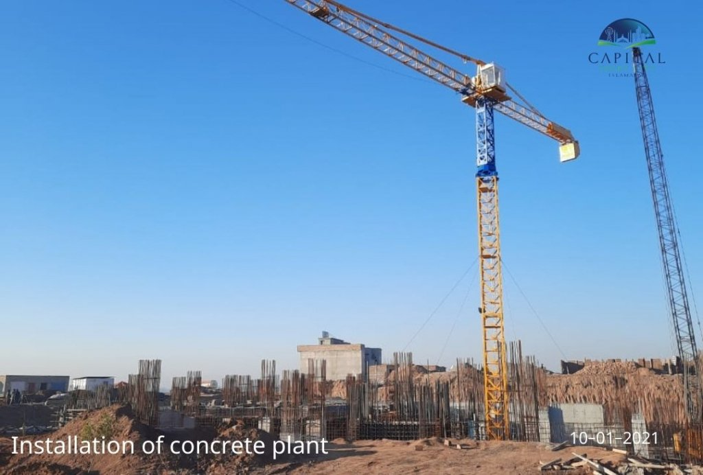 concrete-plant-installation-capital-smart-city-islamabad