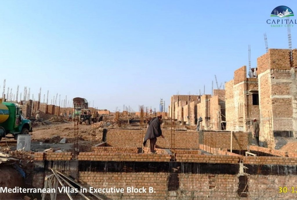 mediterrinean villa-executive block B-capital smart city islamabad