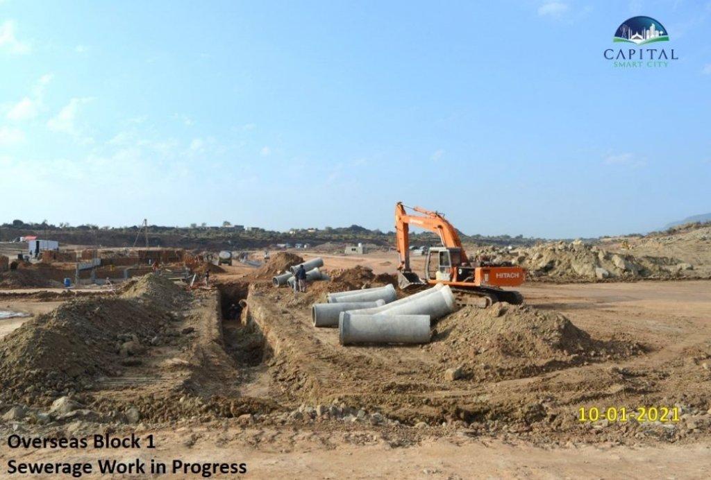 overseas block 1-sewerage work-capital smart city