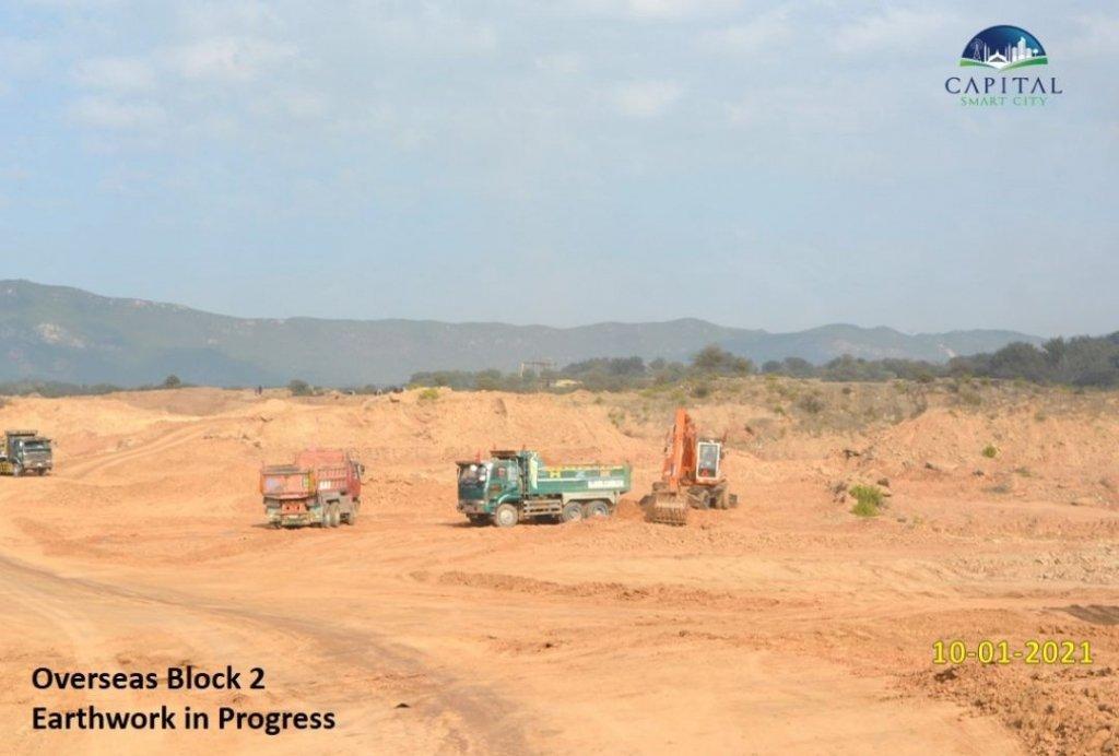overseas block 2-earthwork-capital smart city