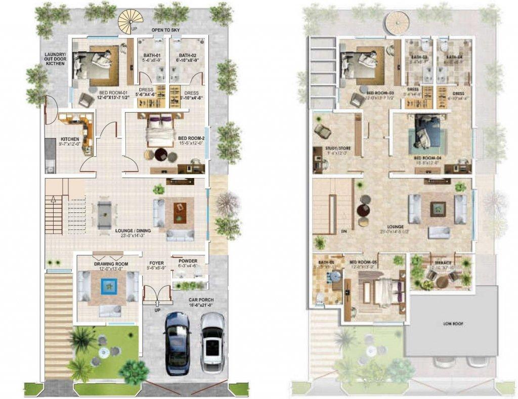 12 Marla - Floor Plan B