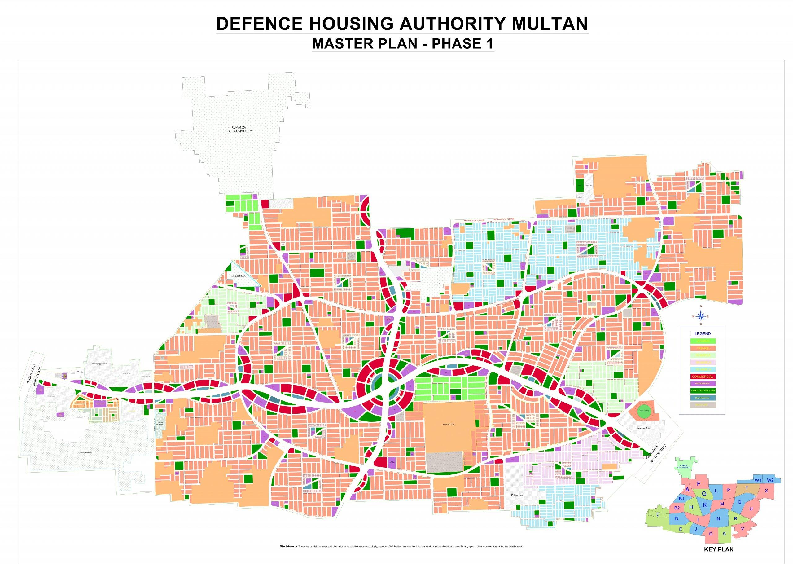 Master Plan- DHA Multan
