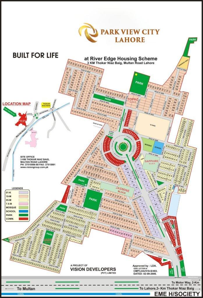 Master Plan Lahore