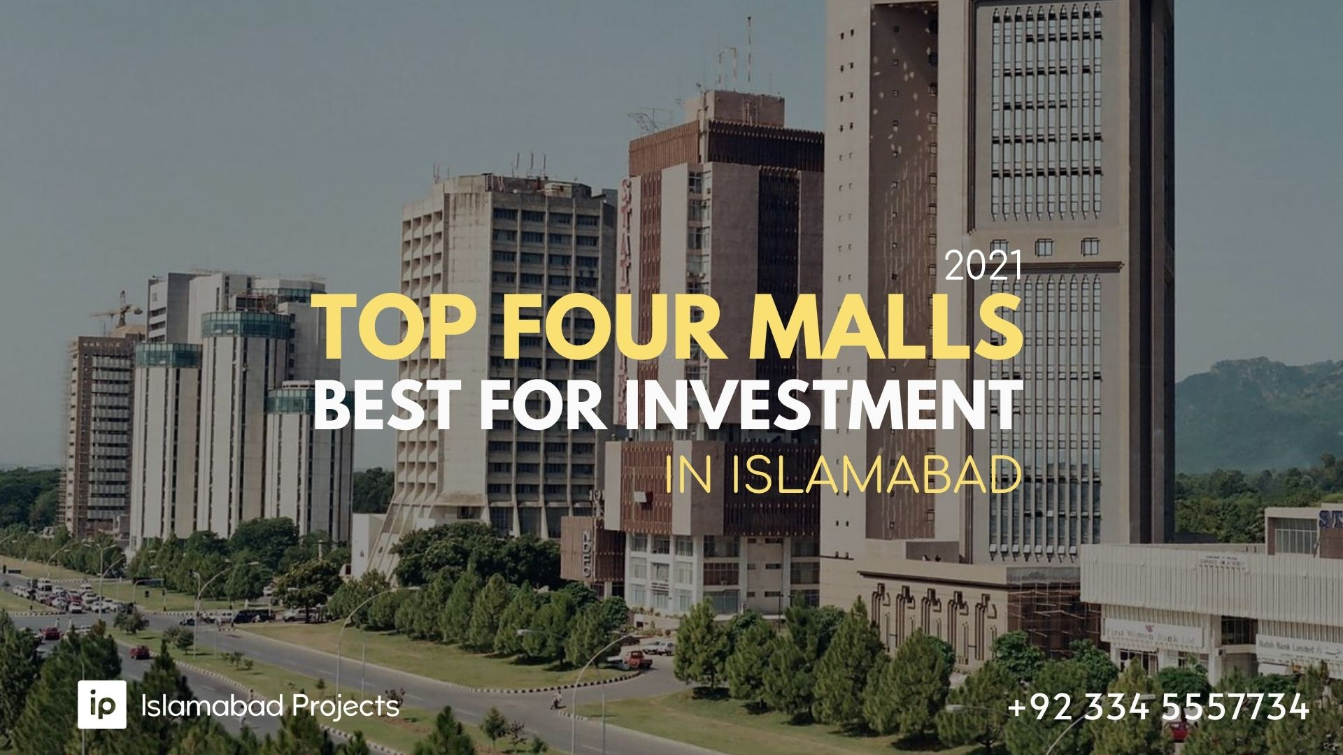 Top Four Malls in Islamabad