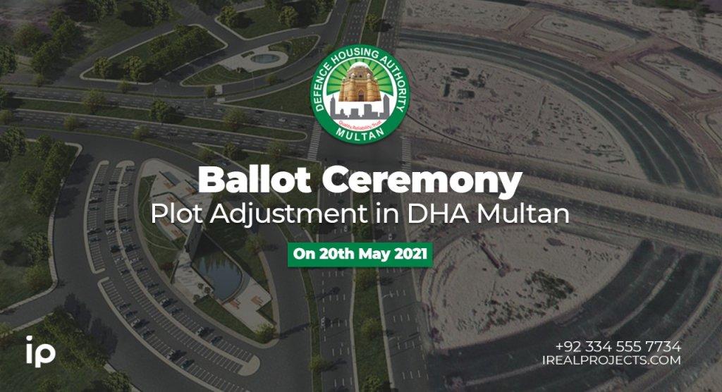 Plot Adjustment Balloting Ceremony