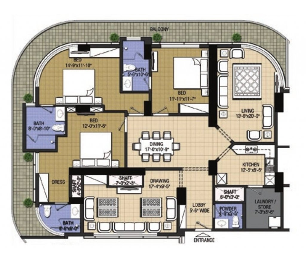 Highlife1-3 bed-Type E