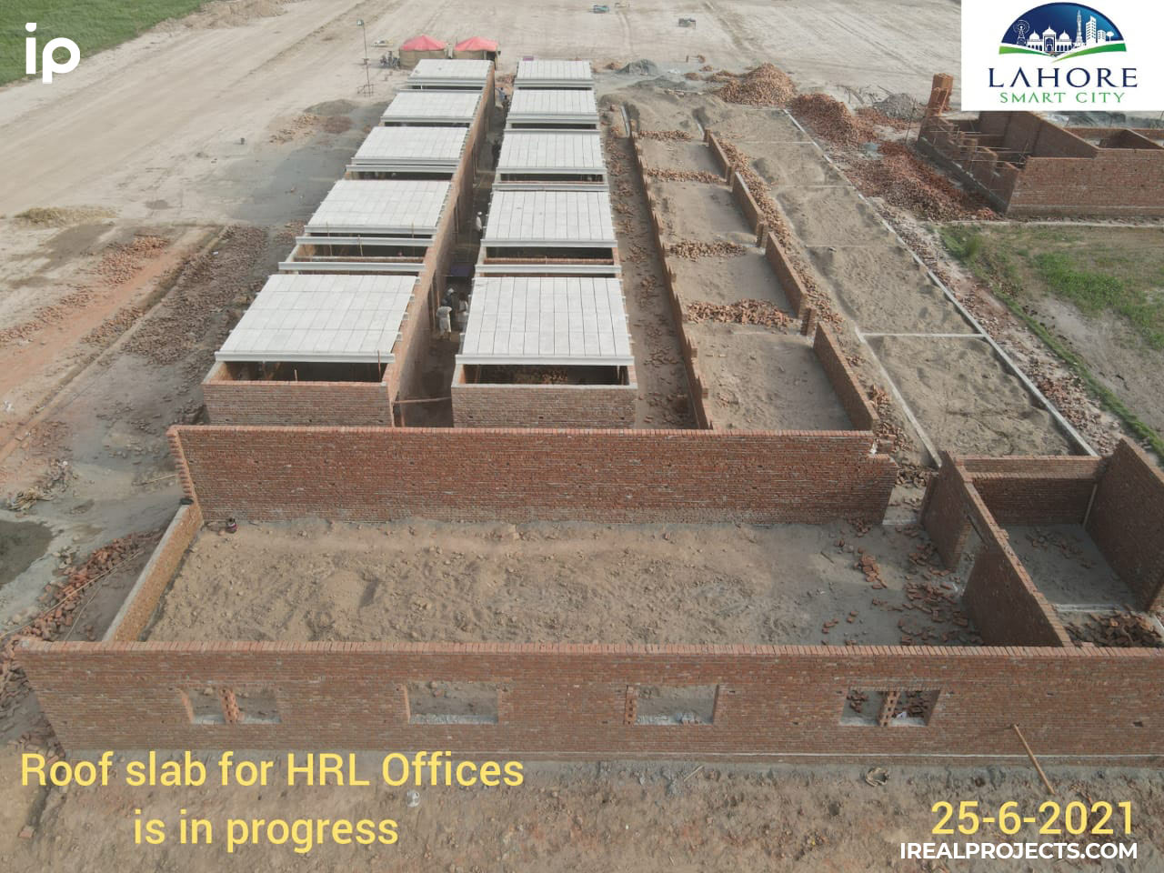 Site-offices-being-constructed-Lahore-Smart-City