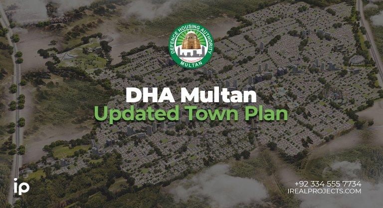 Updated Town Plan DHA Multan latest master plan