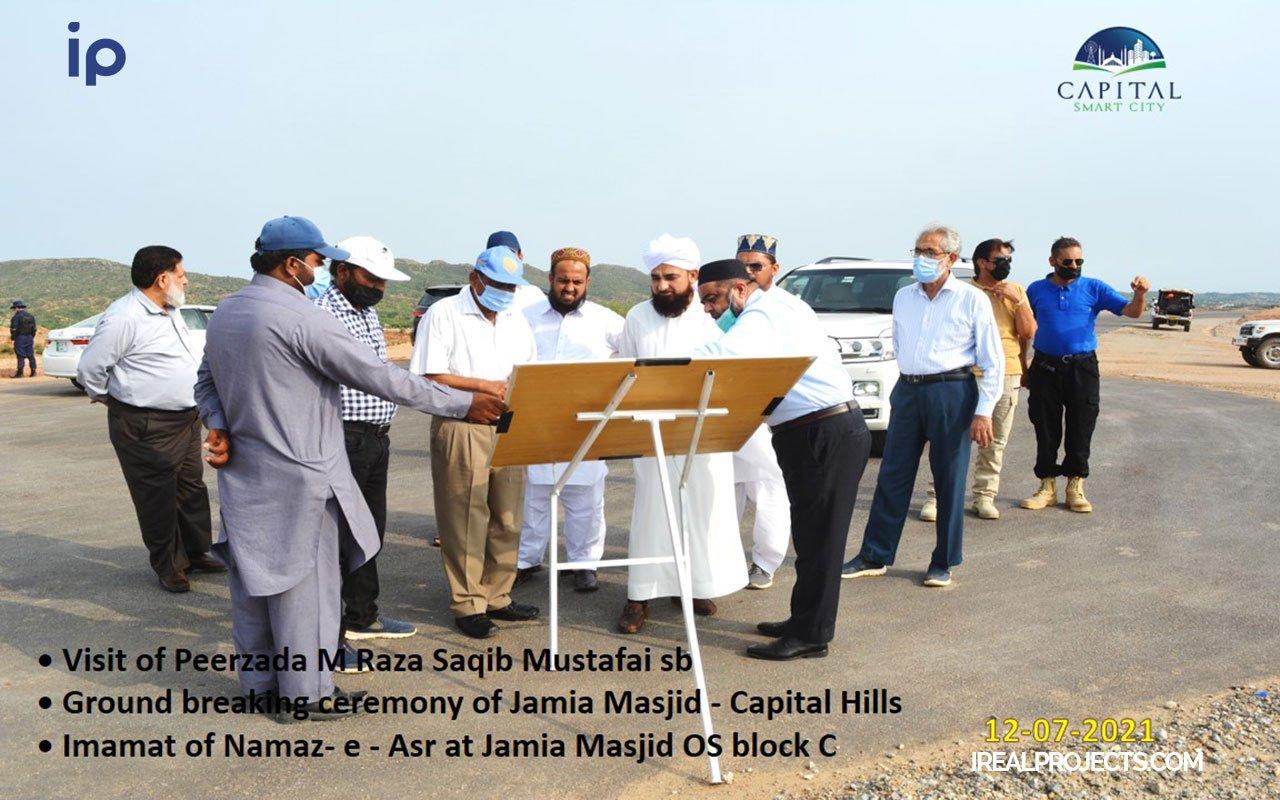 Asr prayer at Overseas block C Jamia Masjid - Capital Smart City