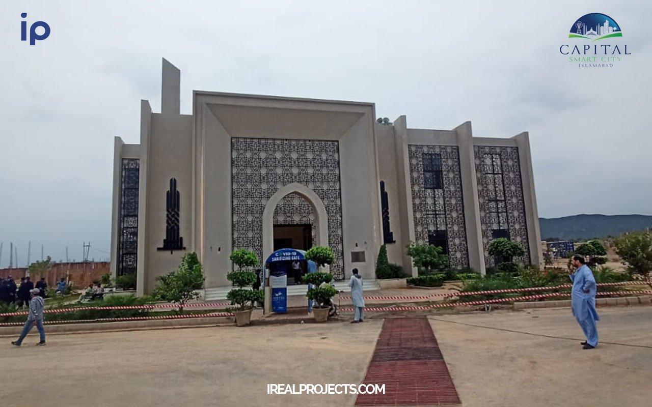 Overseas sector C Mosque - Capital Smart City
