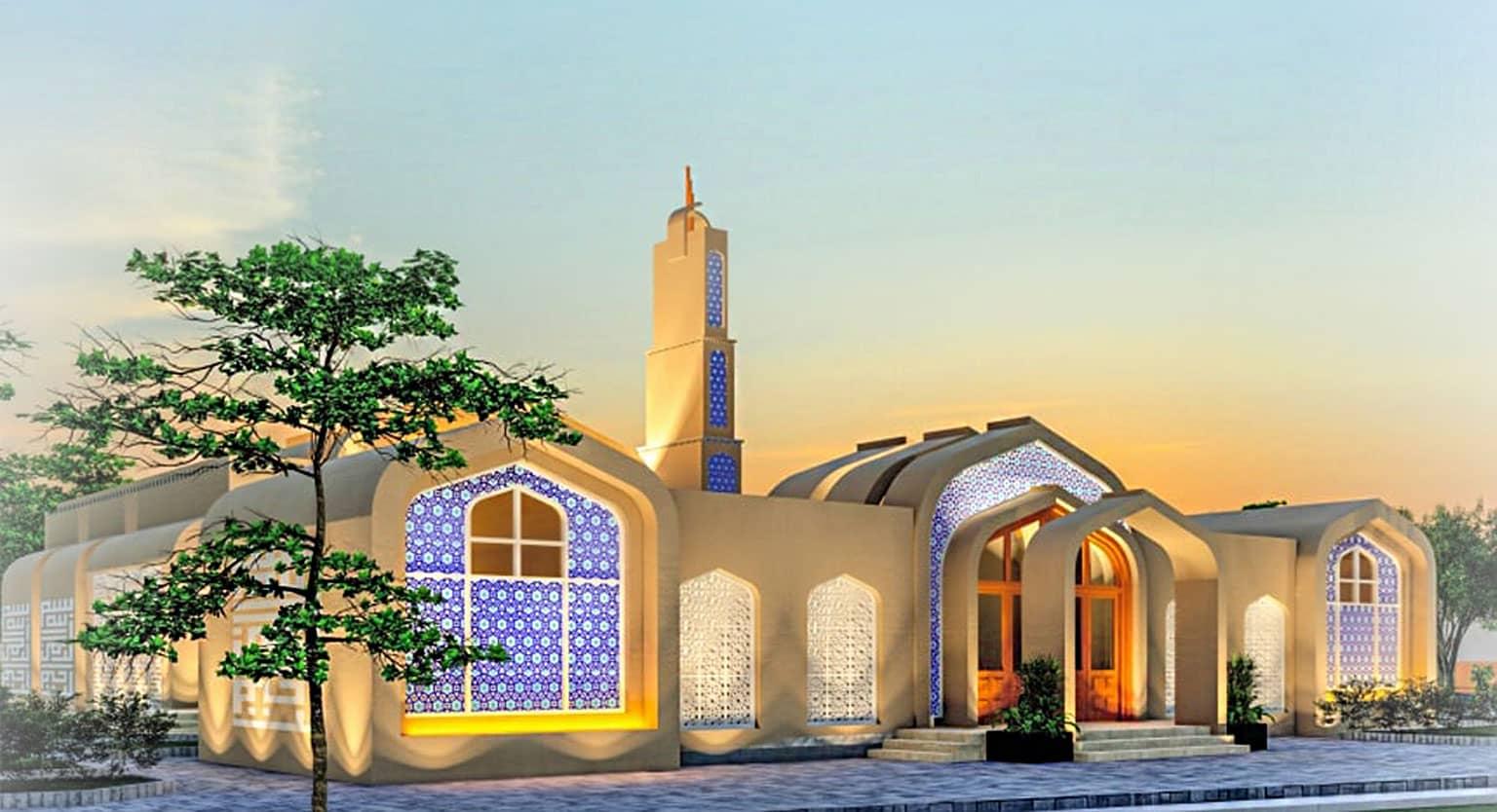 Rehmat-ul-lil Alimeen Mosque in Sector R - DHA Multan