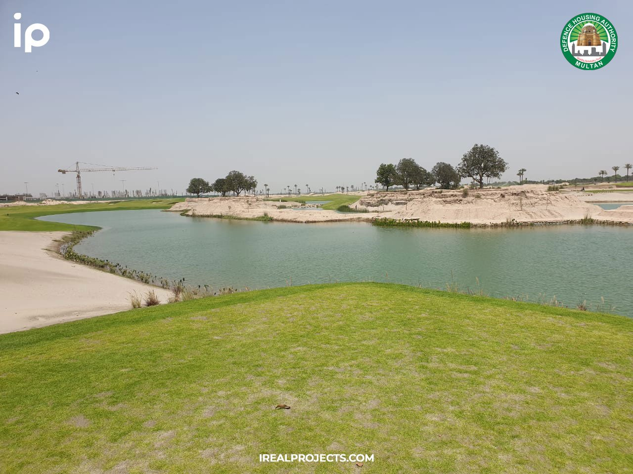 Rumanza Golf Course lake - DHA Multan development update