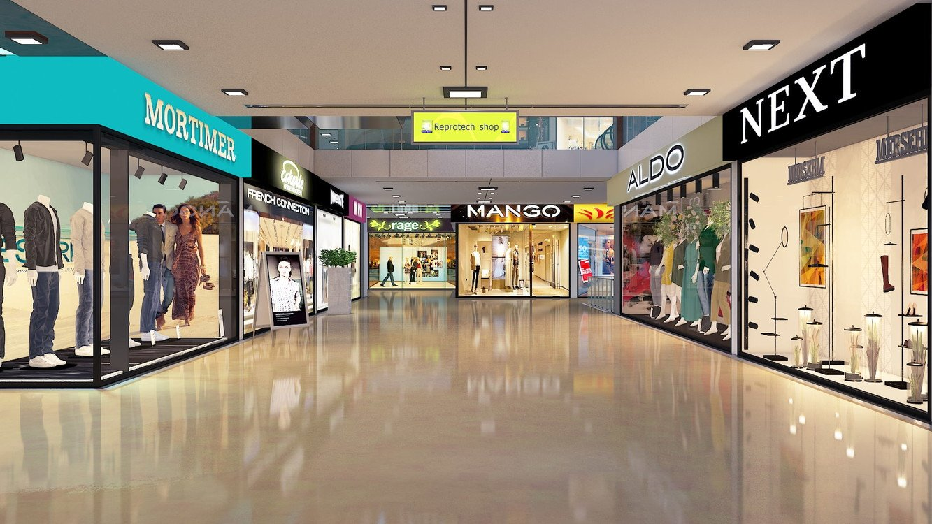 Commercial shops in AJ Towers