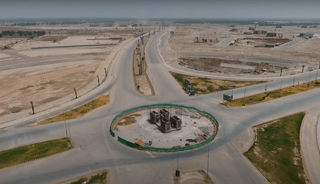 central square dha multan - august 2021