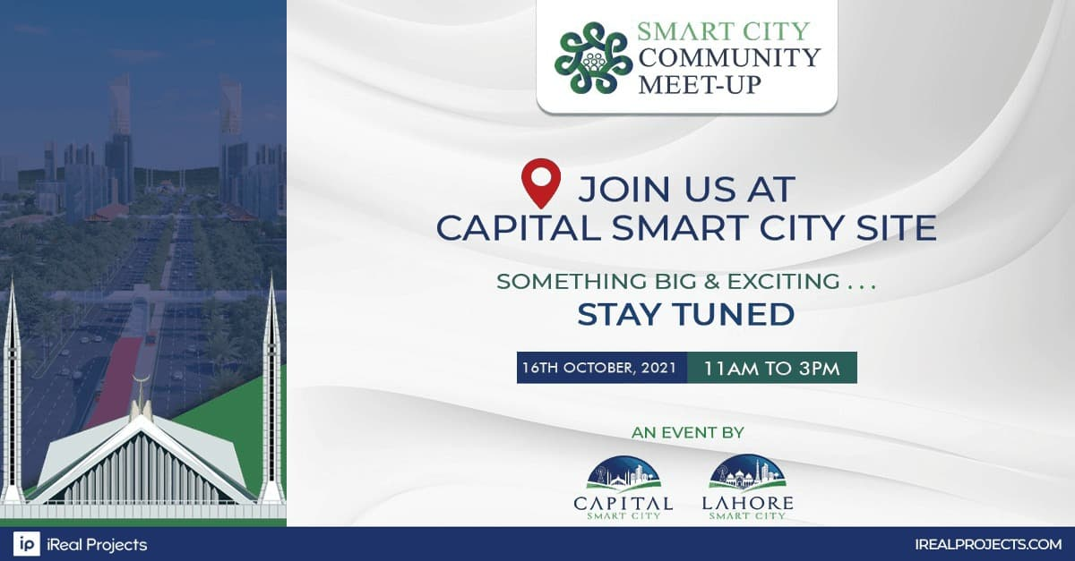 Capital Smart City Community Meetup coming soon - 16 October 2021